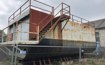 DISMANTLING THE SCYLLA SHIP SECTION